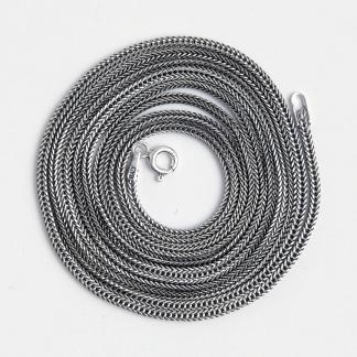 Lanț gros Chang, 90 cm, argint, Thailanda