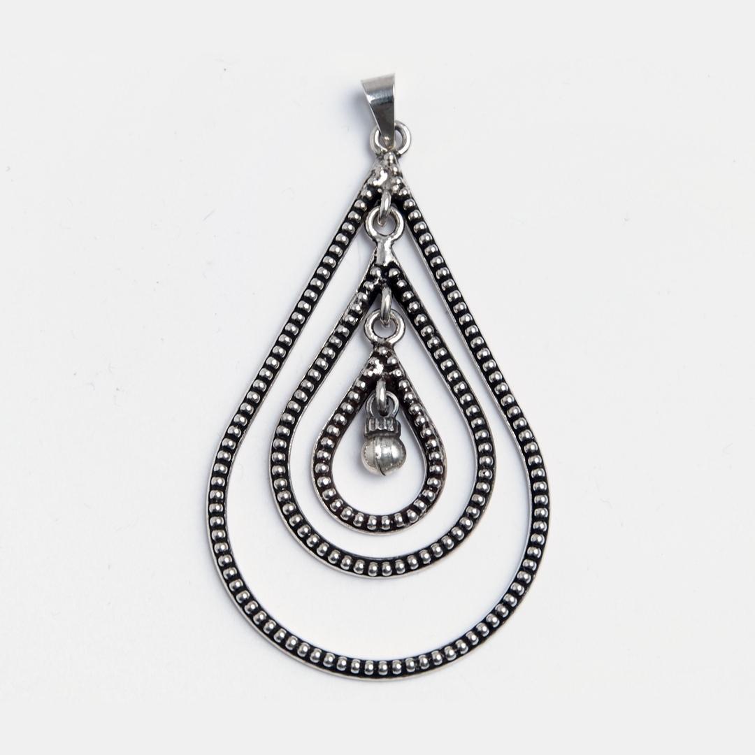 Pandantiv Advika, argint, India