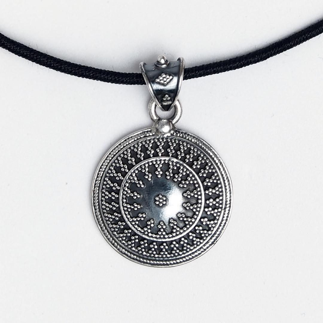 Pandantiv argint Djalli, India