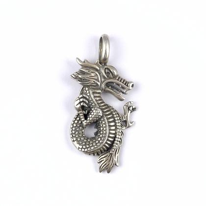 Pandantiv argint, dragon, Thailanda, unisex