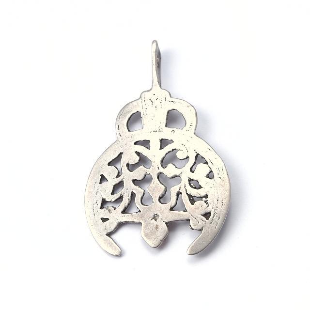 Pandantiv argint Salahat, sec. XX, Tunisia
