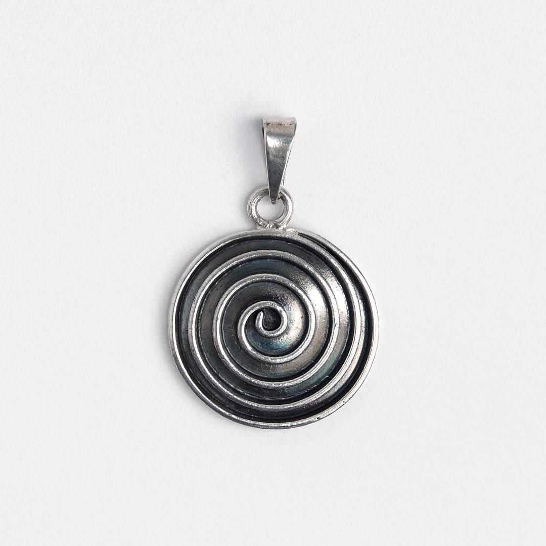Pandantiv din argint spirală mică Swadee, Thailanda