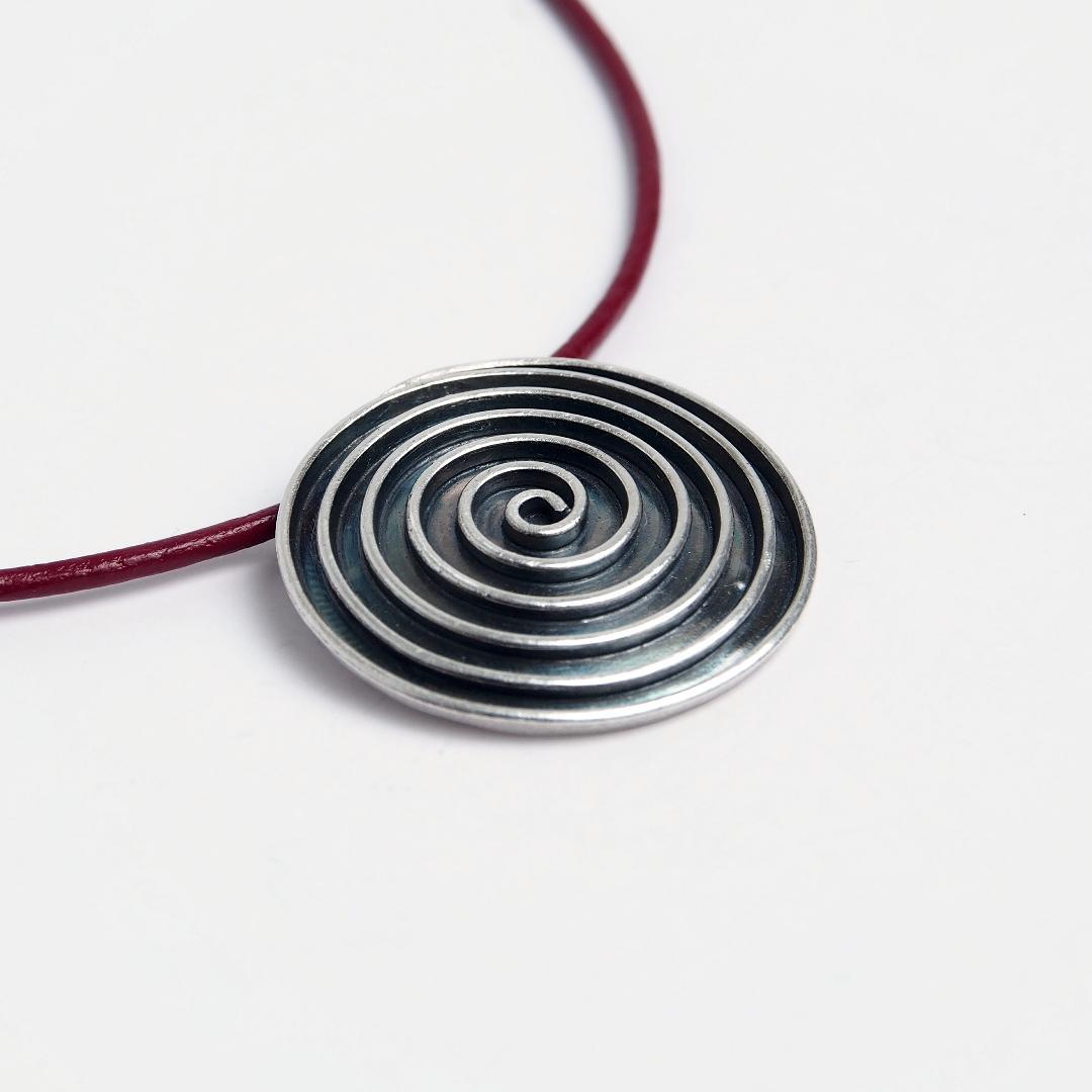 Pandantiv argint spirală Swadee, Thailanda