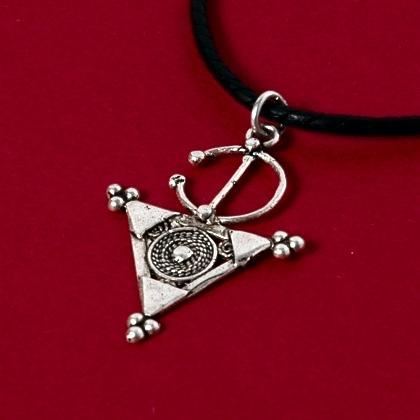 Pandantiv berber fibulă argint