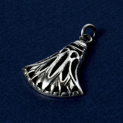 Pandantiv egiptean lotus perforat mare, argint