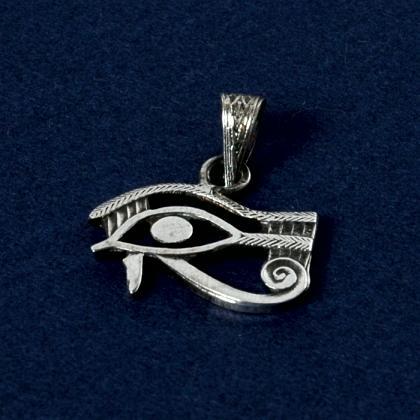 Pandantiv egiptean wadjet, argint