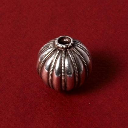 Pandantiv indian kharbuza argint