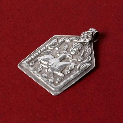 Pandantiv indian patri argint, sec. XX