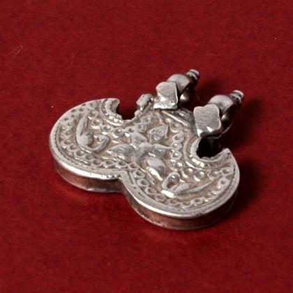 Pandantiv indian shernakh jantr argint, sec. XX
