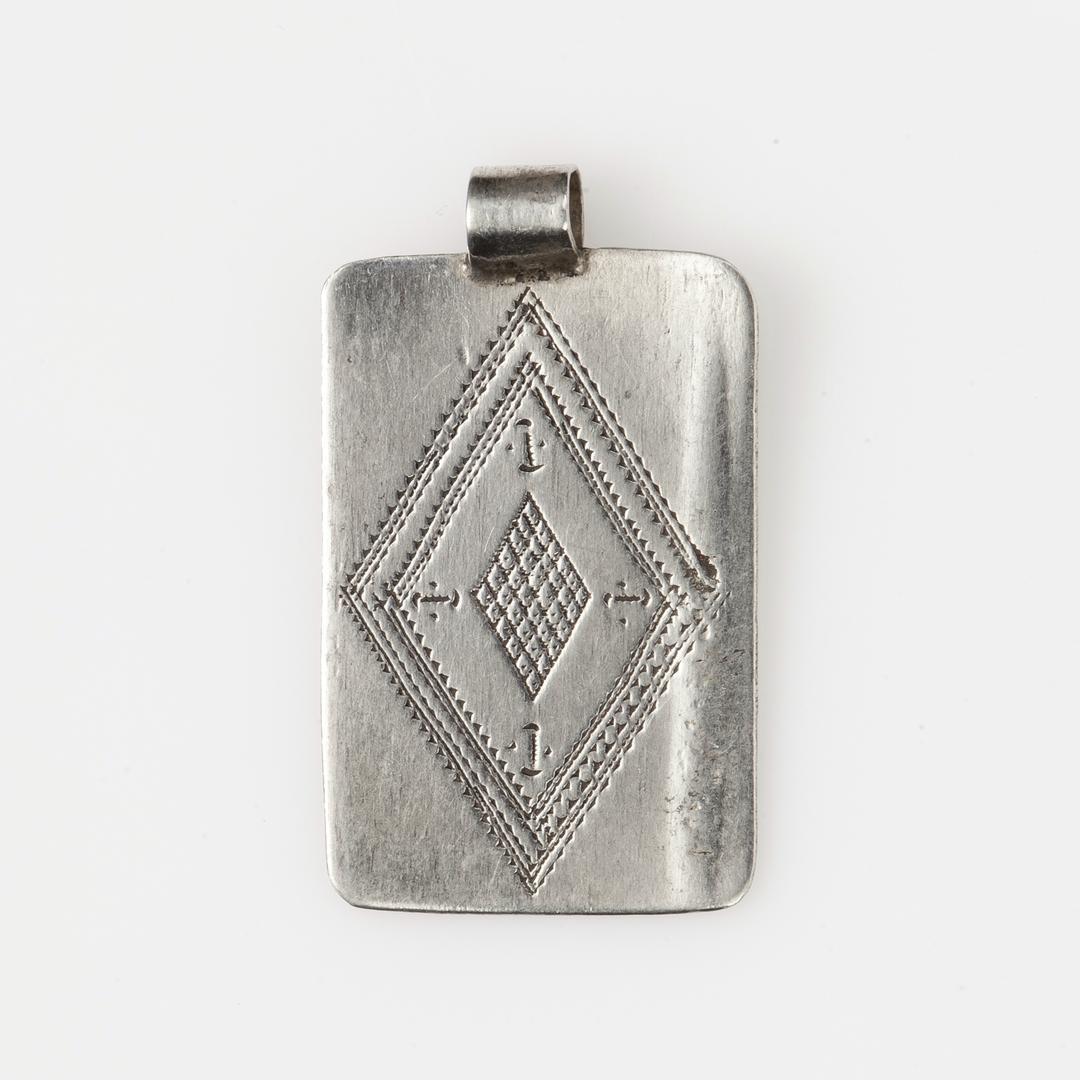 Pandantiv kitab, argint, Sahara