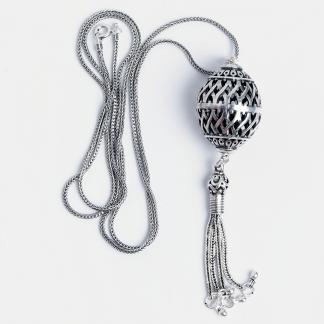 Pandantiv Raya cu lanț lung, argint, Indonezia