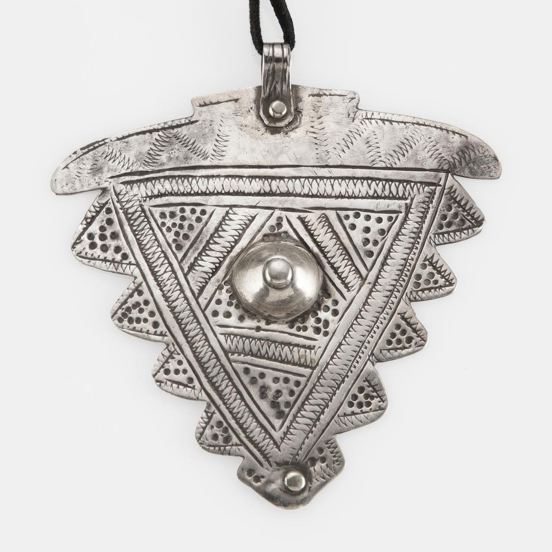 Pandantiv simbolul feminității, argint, sec. XX, Maroc