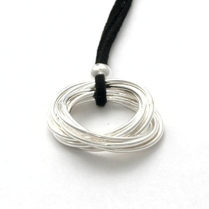 Pandantiv thailandez Siam mic, argint