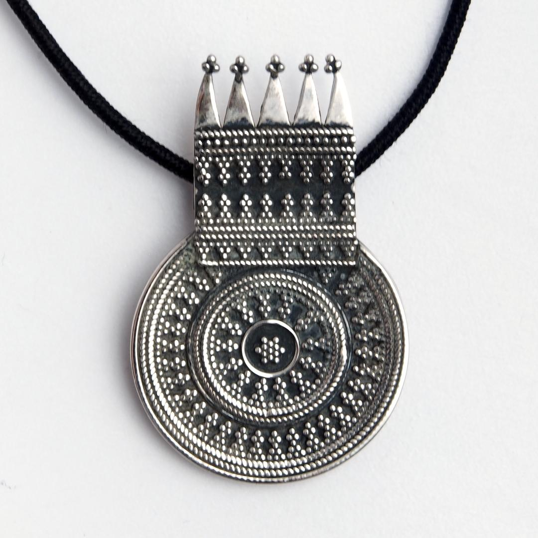 Pandantiv unicat Rala, argint, India