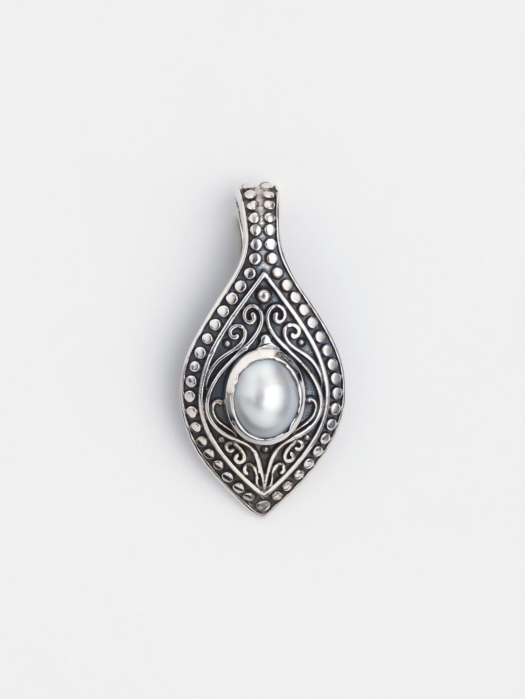 Pandantiv din argint și perlă Vipalli, India