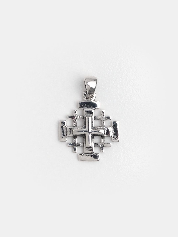 Cruce mică din argint Crucea Ierusalimului