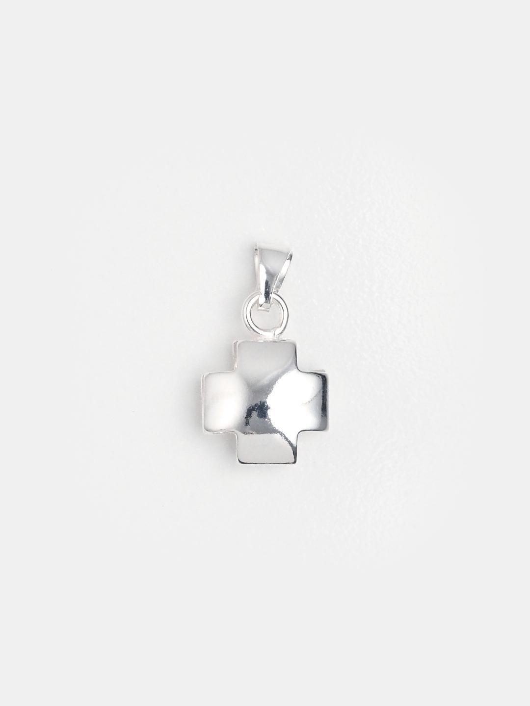 Cruciuliță din argint cu două fețe